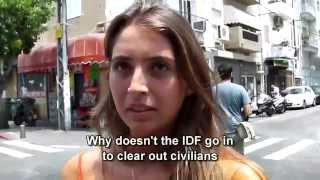 Israelis: Why not go into Gaza to deal with combatants and save civilian lives?