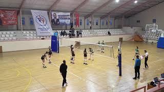 GALATASARAY - Bahçelievler Belediyespor BBSK Kucuk Kizlar Voleybol Maçı 3.Set