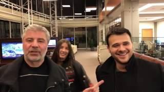 Кэти Топурия, Эмин Агаларов, Сосо Павлиашвили аэропорт Баку