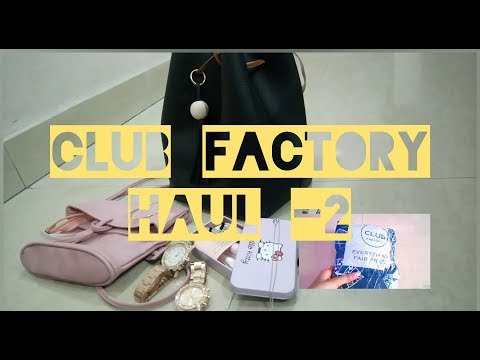 Club Factory HAUL 2 ||Bags||Accessories||Jewellery||