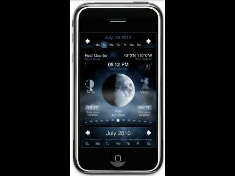 Moon Phase App: Deluxe Moon for iPhone