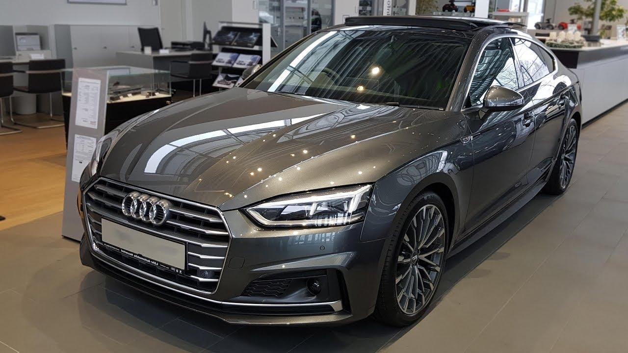 Audi A5 2.0 T >> 2018 Audi A5 Sportback sport 2.0 TDI S tronic | -[Audi ...