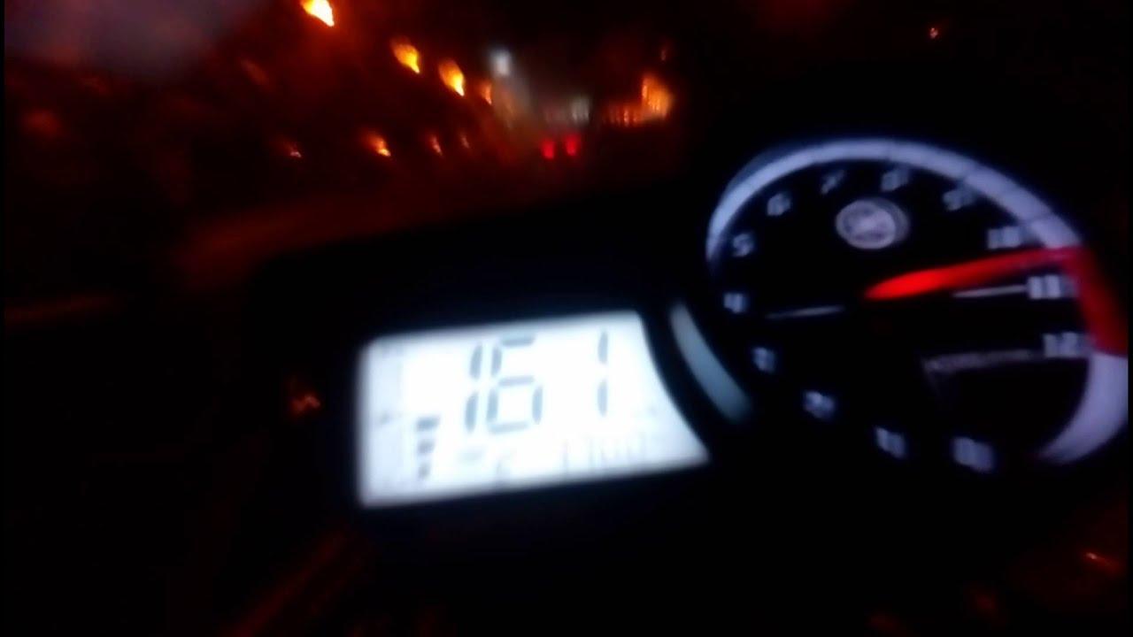 fz150i top speed