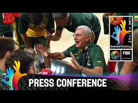 New Zealand v Lithuania - Post Game Press Conference - 2014 FIBA Basketball World Cup