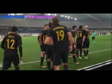 Three great goals from Sergio Araujo vs Paok vs Olympiakos vs Panathinaikos - Only AEK