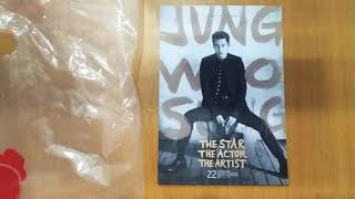 정우성 영화굿즈 뺏지 구입하고 포스터와 엽서도 받았습니…