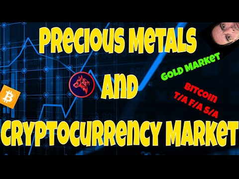 Precious & Base Metals and Cryptocurrency Market News - Gold & Bitcoin