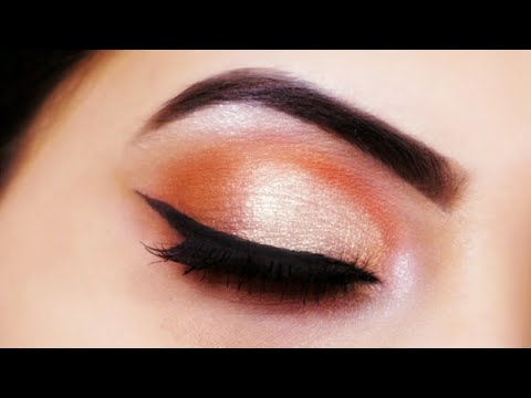 simple and easy everyday eye makeup tutorial for beginners