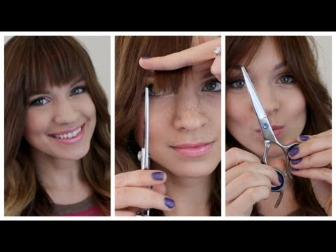 Trim Your Bangs At Home! My Tips and Tricks