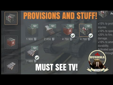 Provisions and The Irish Coffee Baron World of Tanks Blitz
