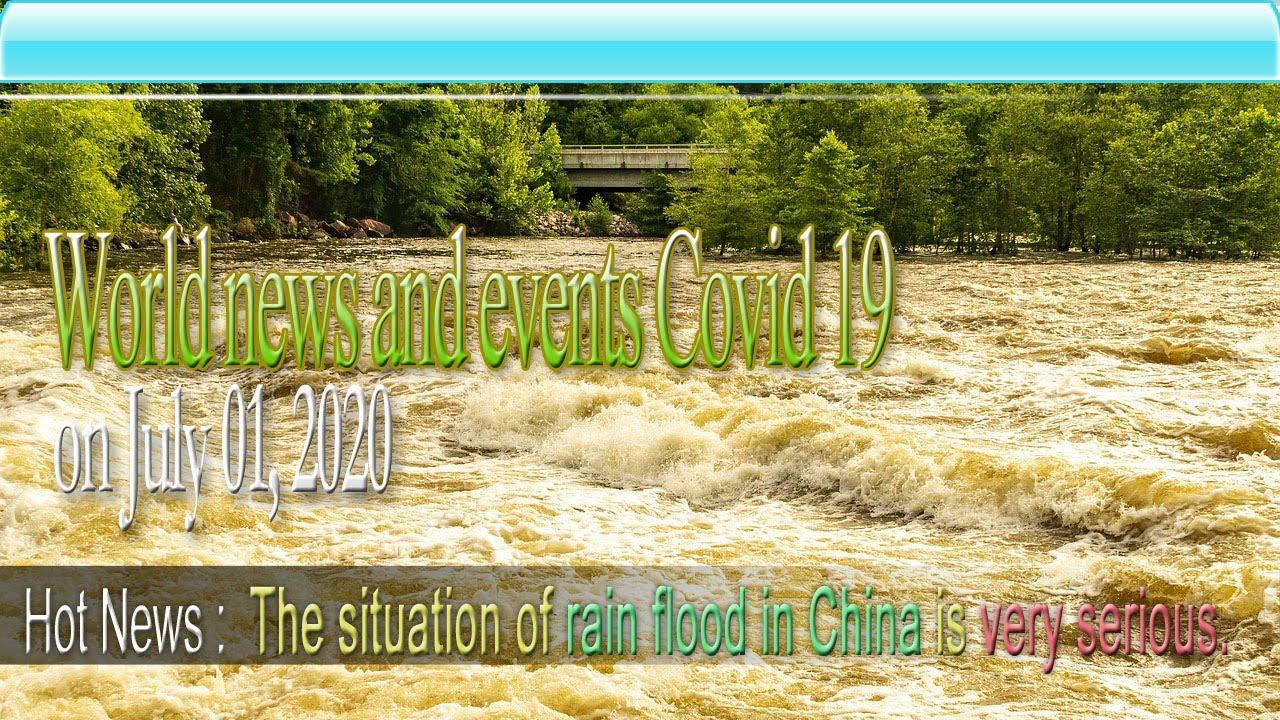 World news and events Covid 19 on July 01|| World News|| KCVC