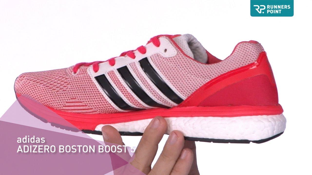 6319be215c6688 adidas adizero BOSTON BOOST 5 - YouTube
