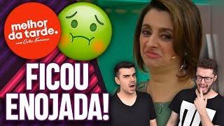 CATIA FONSECA SE RECUSA A PROVAR RECEITA DE CHEFE AO VIVO! | Virou Festa