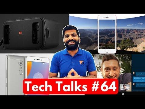 Tech Talks #64 - Skype Translation, Facebook 360, Mi VR, Xiaomi Mijia, Lenovo K6 Note..