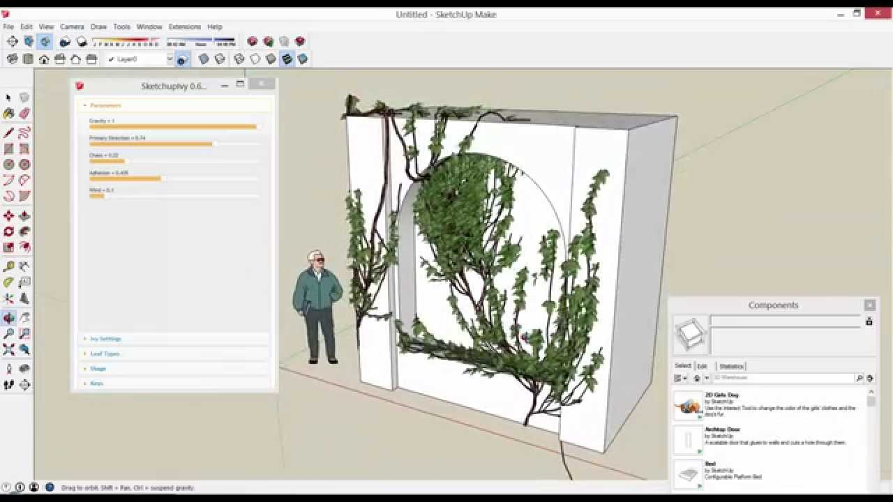 SketchUp Ivy Extension