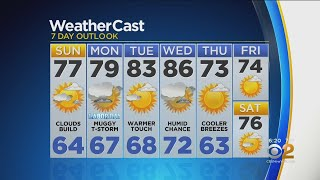 New York Weather: CBS2 8/31 Weekend Forecast at 6PM