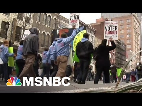 Voting Rights Advocates Organize For Direct Action   MSNBC