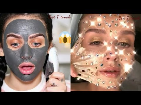 Best Face Mask Compilation 2018\ Skincare Routine  Summer 2018