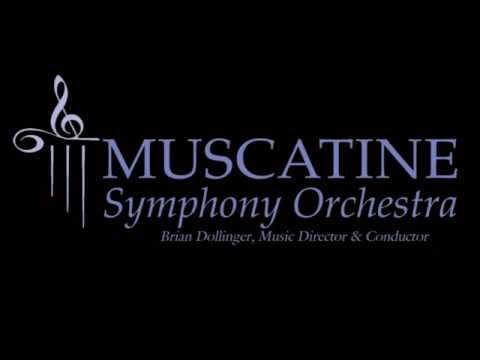 "Muscatine Symphony Orchestra performs ""Saturday Night Waltz"" from Aaron Copland's ballet ""Rodeo."""