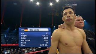 2. Dezember 2011 - Felix Sturm vs. Martin Murray (SAP-Arena, Mannheim, Deutschland)