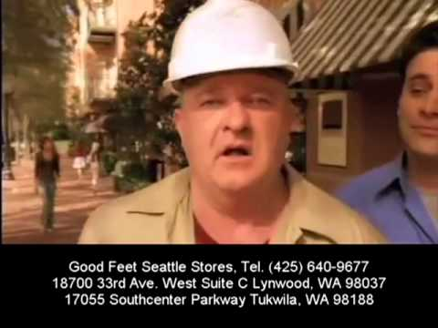 Foot Pain Relief on the job Good Feet Seattle