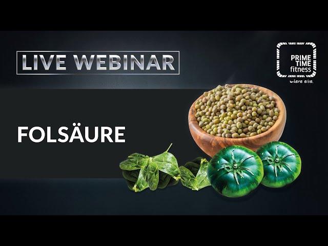 Folsäure (live Webinar)