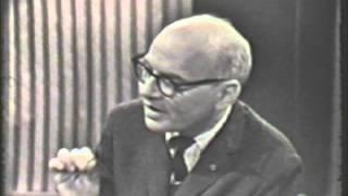 Milton Babbitt-demonstration on electronic music (1966) part I