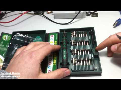 ✅ Обзор отличного набора отверток LA613138 для ремонта ноутбуков или планшетов