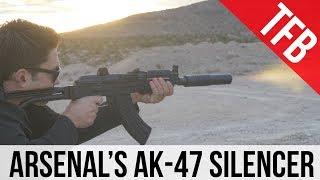 A Rare, Titanium AK Silencer: The Arsenal + Gemtech ARS30-1 Suppressor