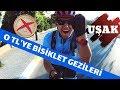 Bisiklet Üzerinde UŞAK'ı Geziyorum I Gizli Cennet ULUBEY KANYONU I Bisikletle Türkiye Turu #1