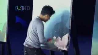 Wyjątkowy artysta w kolumbijskim Mam Talent