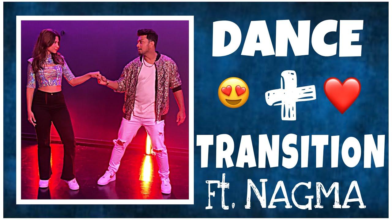 DANCE + TRANSITION #Nawez ft. @Nagma Mirajkar ❤️ #shorts
