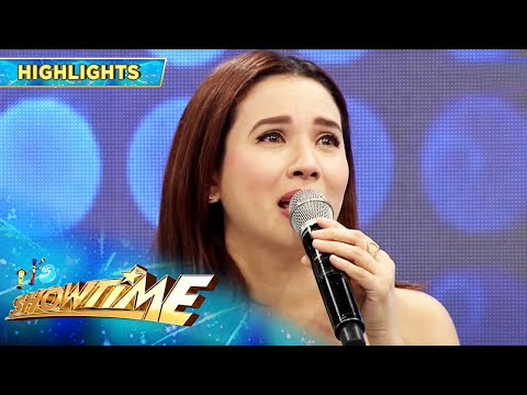 Karylle becomes emotional | It's Showtime