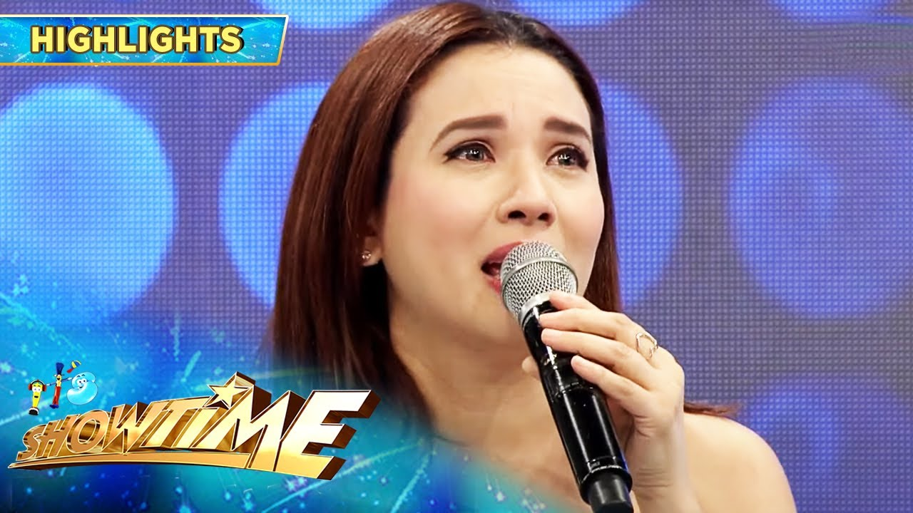 Download Karylle becomes emotional | It's Showtime