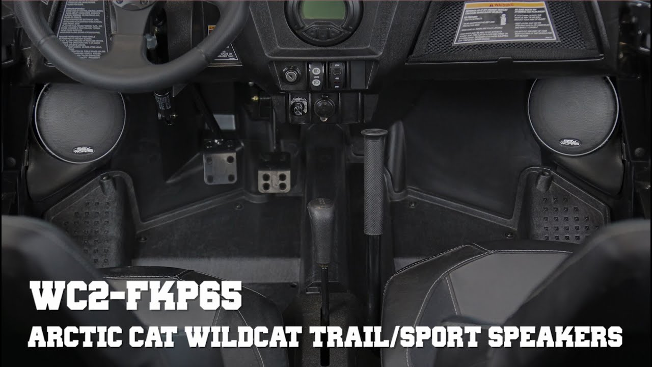 Arctic Cat Wildcat Trail Stereo System