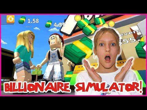 Becoming a Billionaire! Billionaire Simulator!