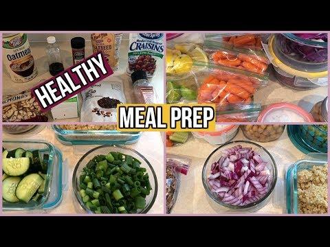 healthy-weekly-meal-prep-#51- -bonus-sugar-free-superfoods-granola-recipe!