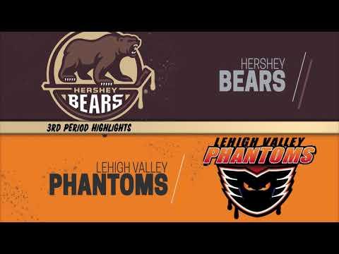 Hershey Bears 4 at Lehigh Valley Phantoms 3 (OT) 10/12/2019