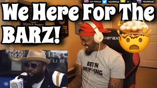 """WE NEED MORE """"REAL RAPPERS"""" ON FLEX!!! BLACK THOUGHT FREESTYLES ON FLEX (REACTION!!!)"""