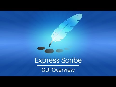 Express Scribe Transcription Software Tutorial | Overview