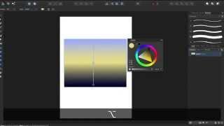 Affinity Designer - Teil 4: Farbverläufe erzeugen