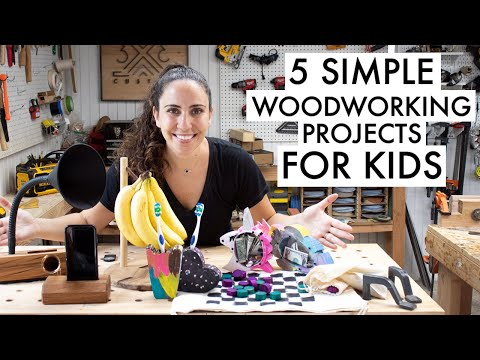 easy-woodworking-project-to-make-with-kids-//-beginner-woodworking-projects