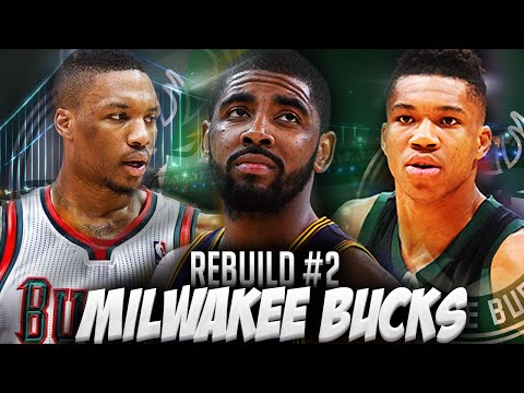 NBA2K16 MyLEAGUE - Rebuilding the Milwaukee Bucks! DAMIAN LILLARD CRAZY GAME WINNER!!