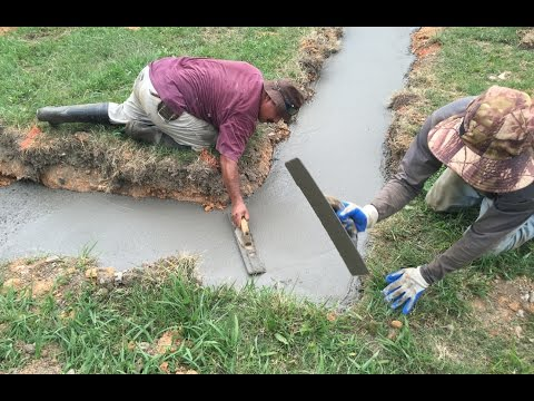 Riverside Home Project Vlog #1 - Digging the Well and Footings