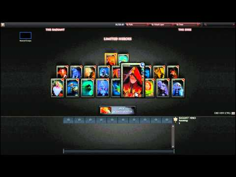 Dota 2 Limited Heroes Mode - Dota 2 Beginners