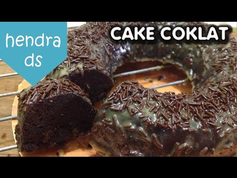 Resep Cake Coklat Kukus Tanpa Pakai Mixer Steamed Moist Chocolate Cake Youtube