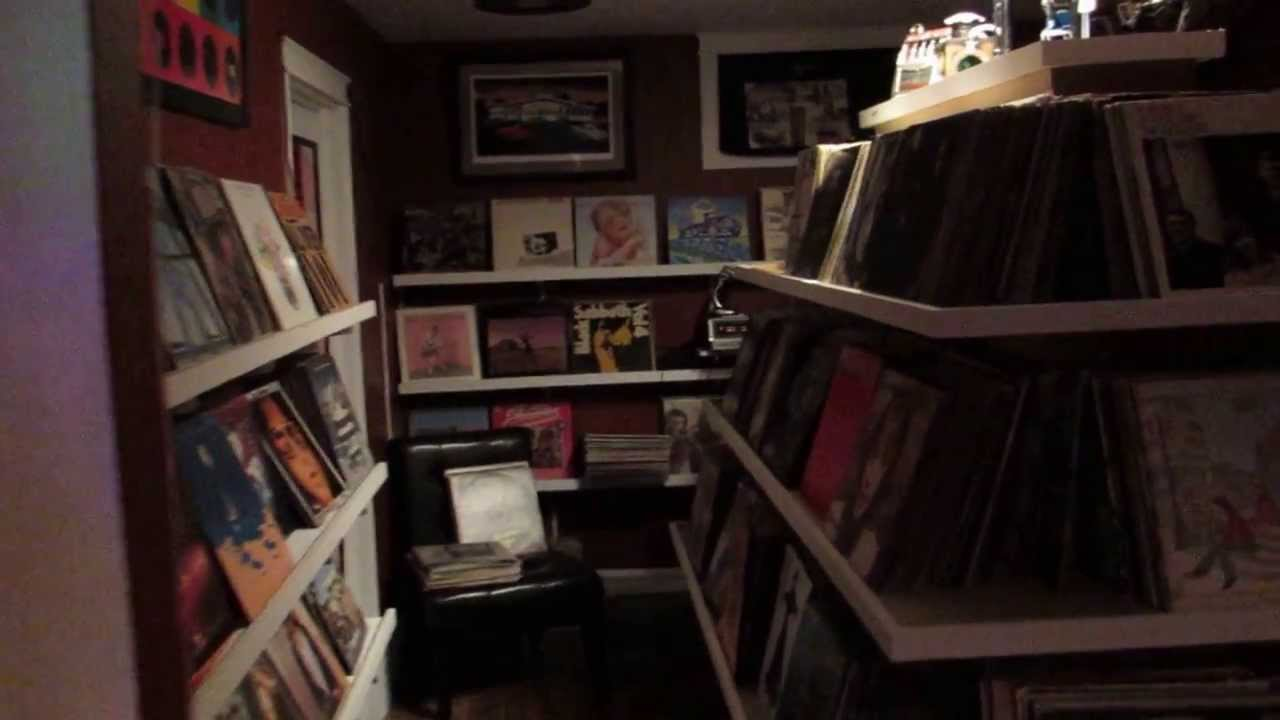 RECORD MUSIC ROOM TOUR VINYL COLLECTION SHELVING LP ROOM ...