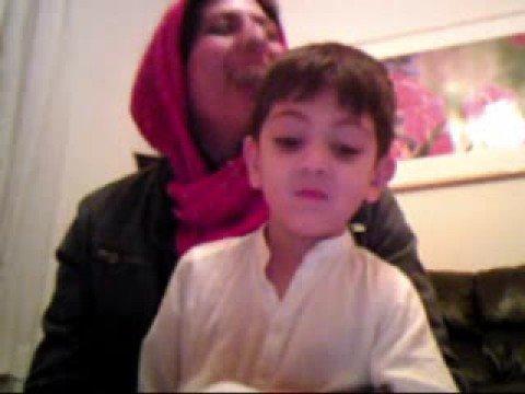 Quba and Sheema on Eid