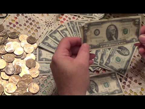 Silver Stacking with Two Dollar Bills