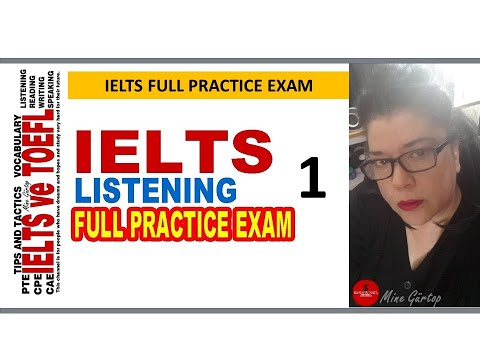 1-IELTS LISTENING FULL PRACTICE EXAM WITH KEY